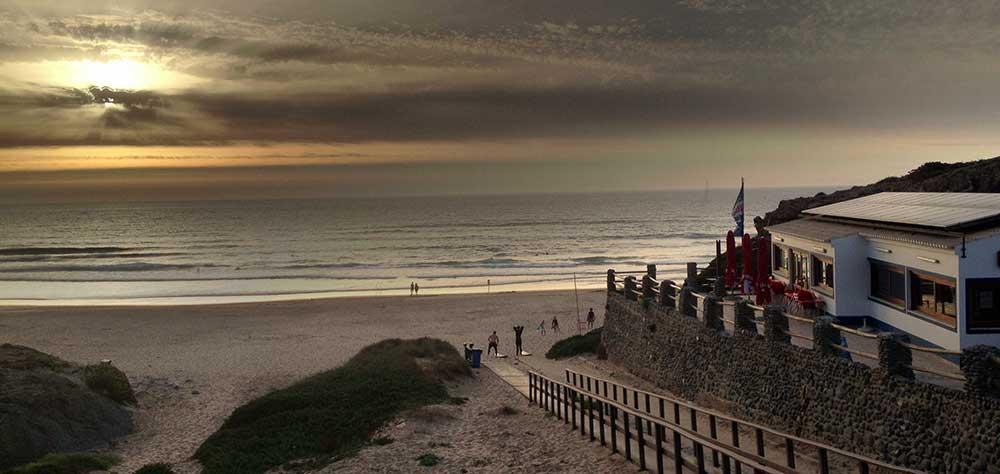 Immer einen Tipp Wert: Die Strandbars und Restaurant an jedem größeren Strand rund um Sagres