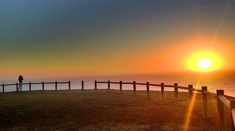 Sonnenuntergang-Sagres